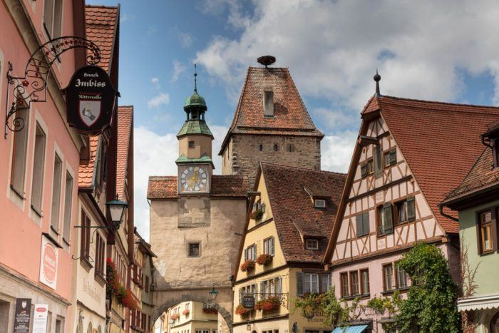 City view of Rothenburg