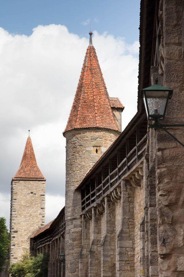 Rothenburg walls