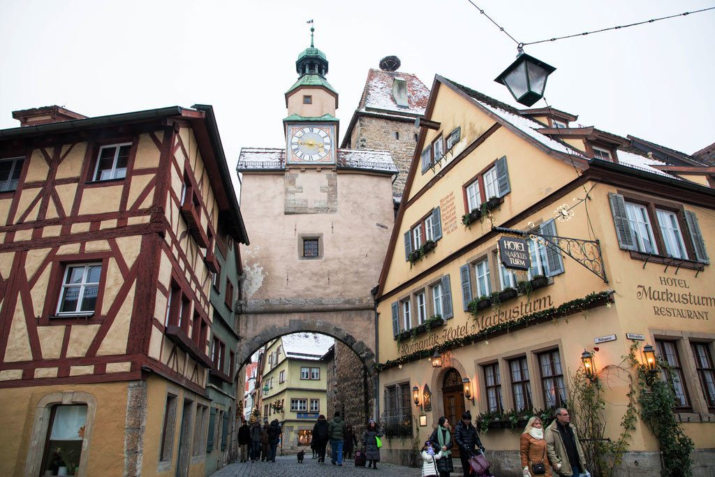 Romantic Rothenburg Hotel in medieval building