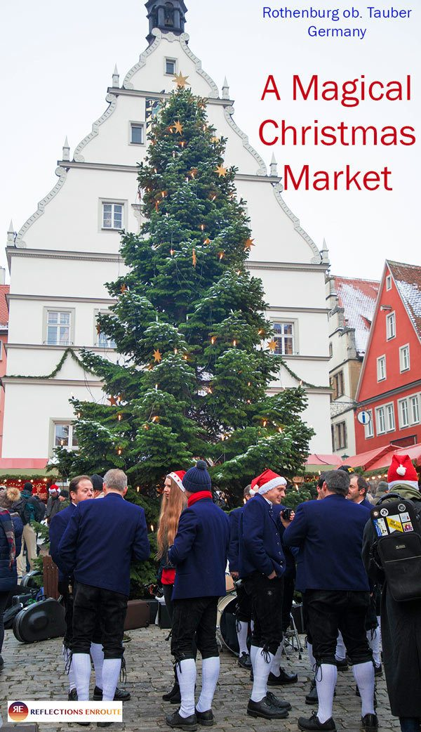 Rothenburg Christmas Market is one of the most magical Christmas markets in all of Germany!