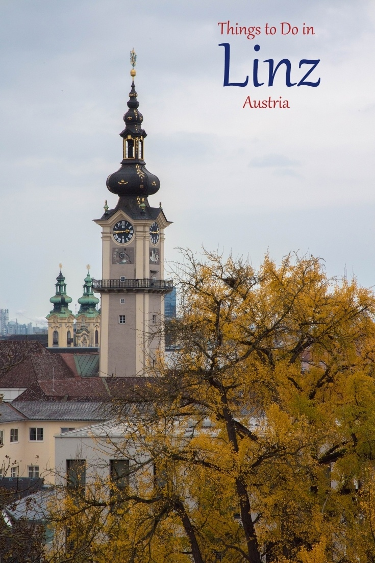 Going to Austria? Don't miss the gorgeous city of Linz!