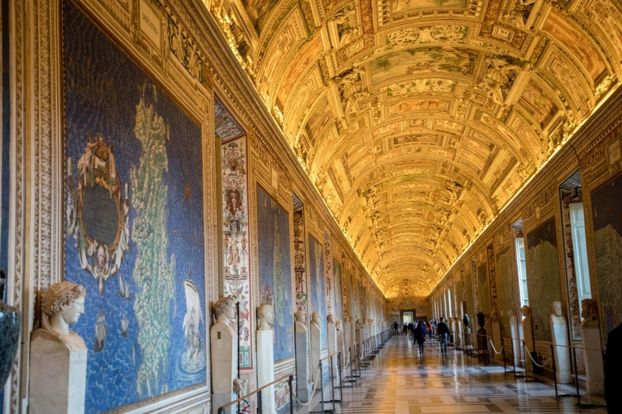 The Gallery of Maps in the Vatican