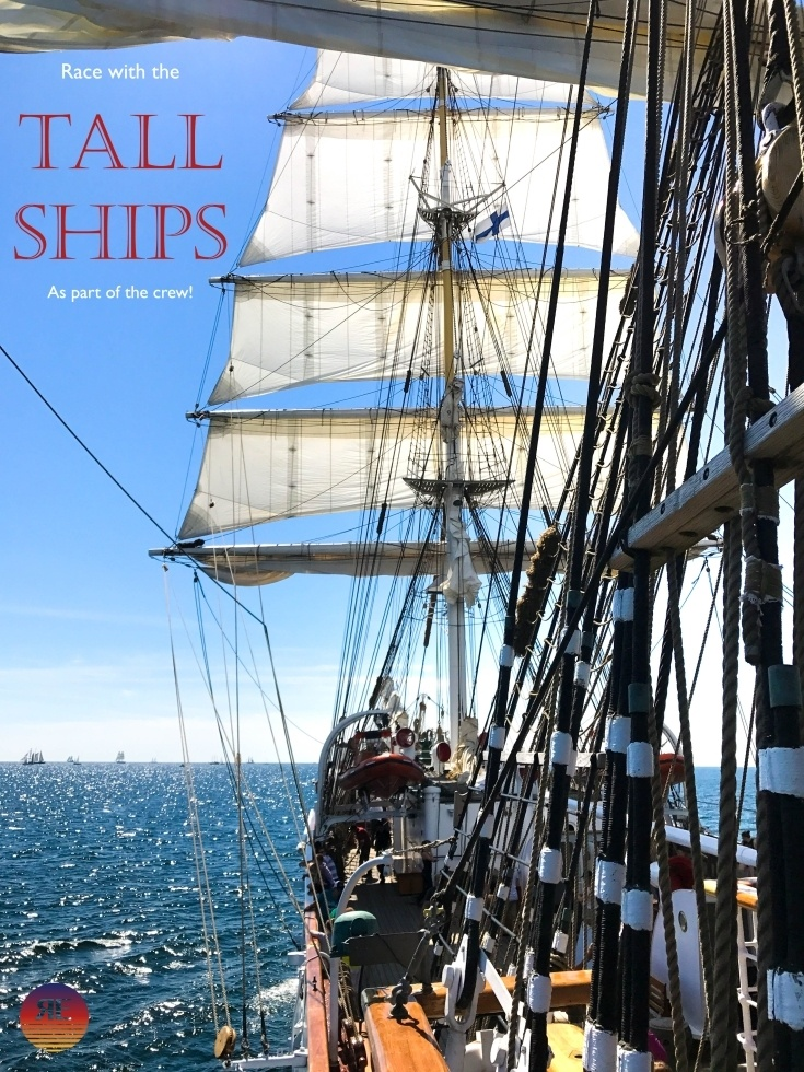 Sail the oceans on a tall ship, and check it off of your bucket list!