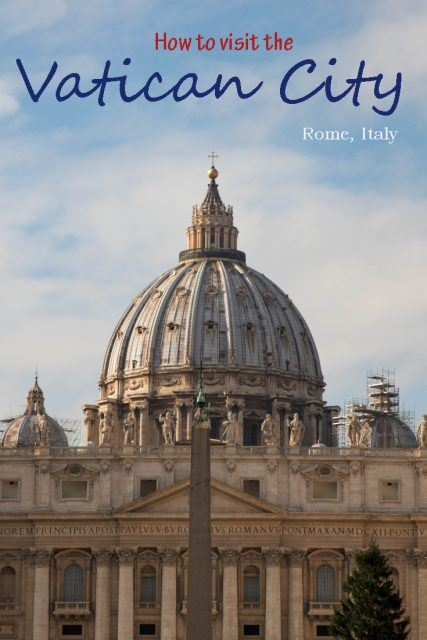 Visiting The Vatican City - Top Travel Tips!