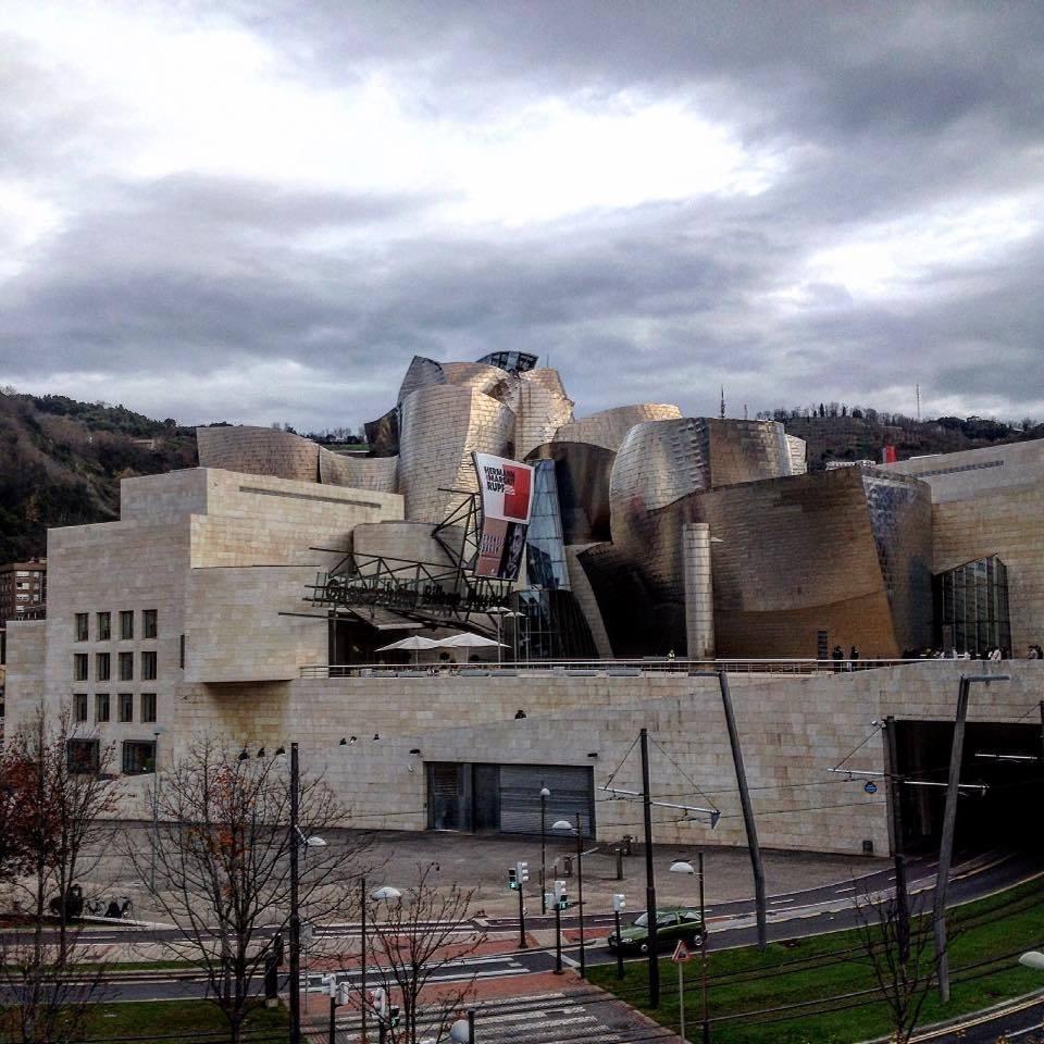 The Guggenheim Museum in Bilbao.