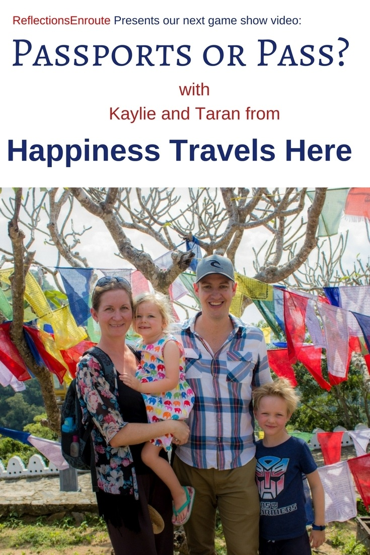 Passports or Pass with Kaylie and Taran of Happiness Travels Here