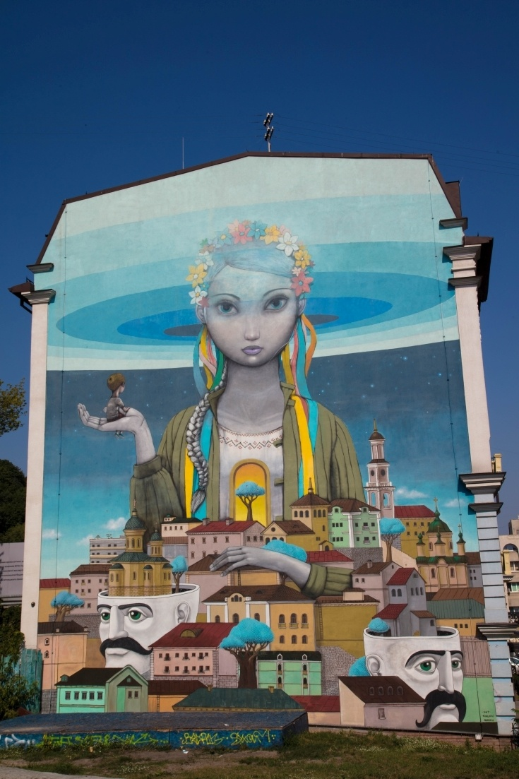 Kiev street art