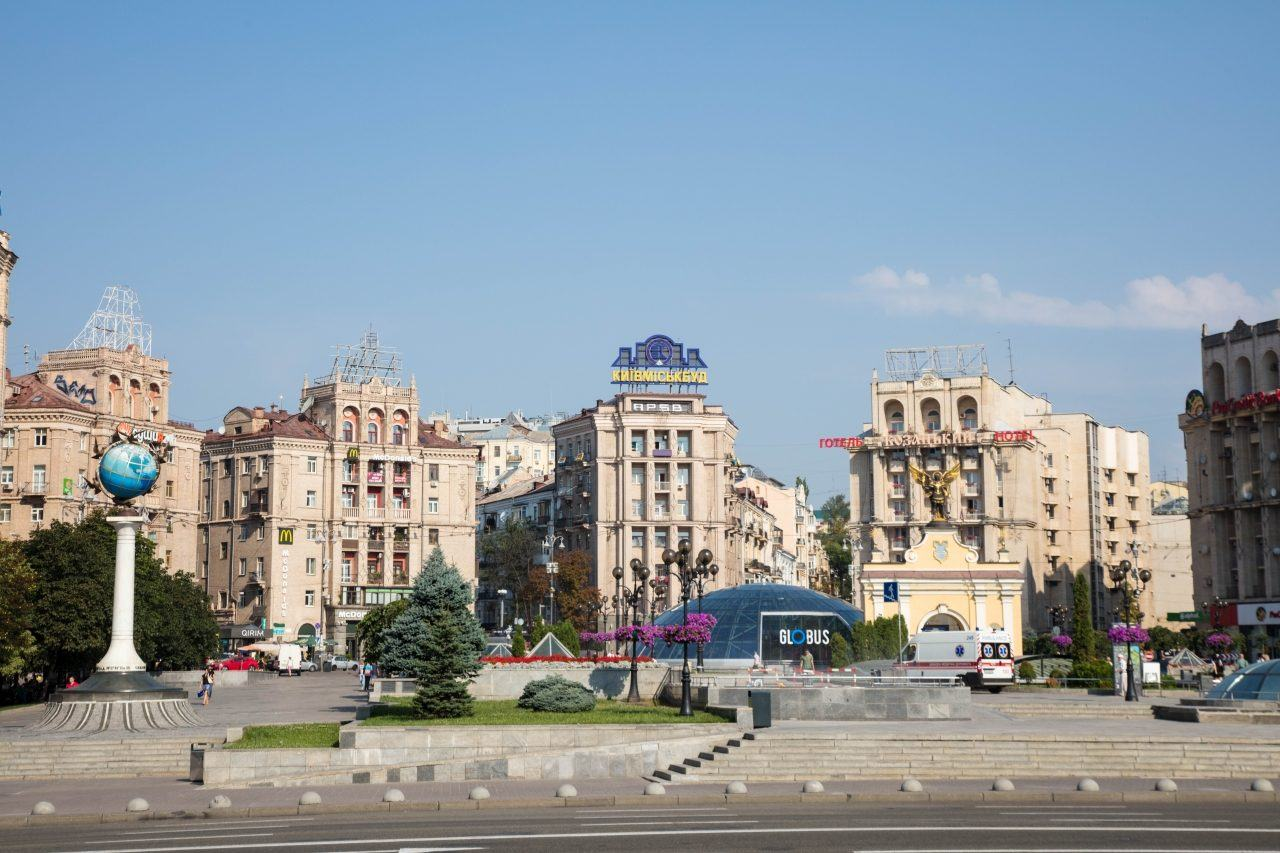 Kiev tourist sites includes Independence Square