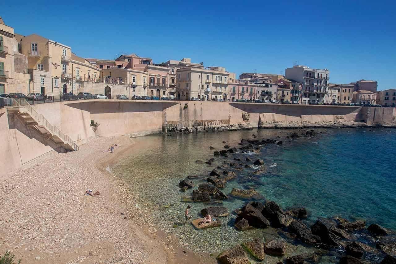 Ortigia Beach, Sicily