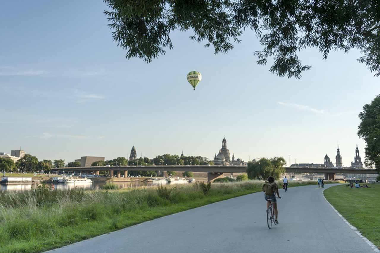 Dresden bike path