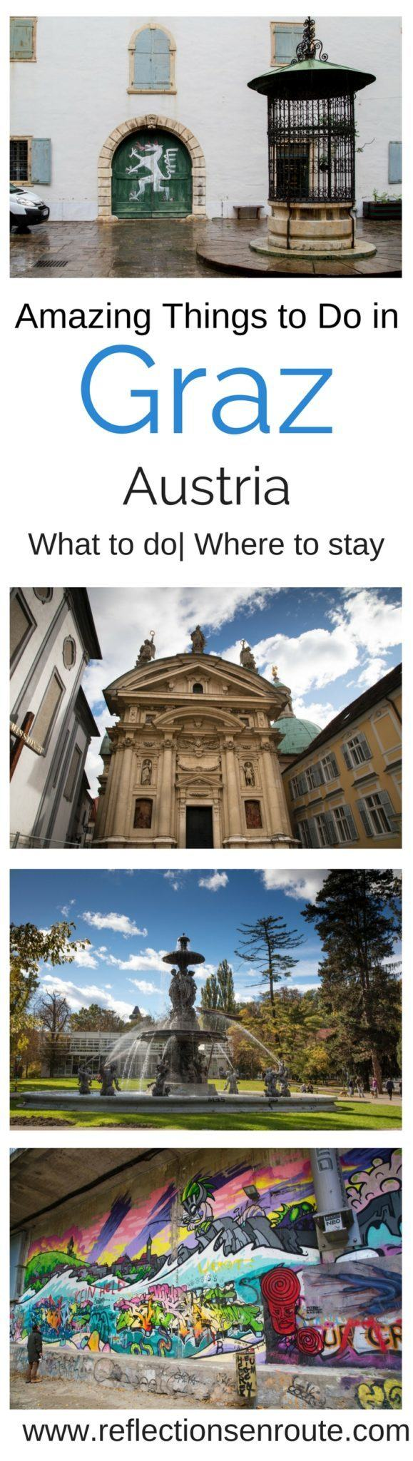 Heard of Graz, Austria? You should have! It's a UNESCO World Heritage City of Design and tons of fun!