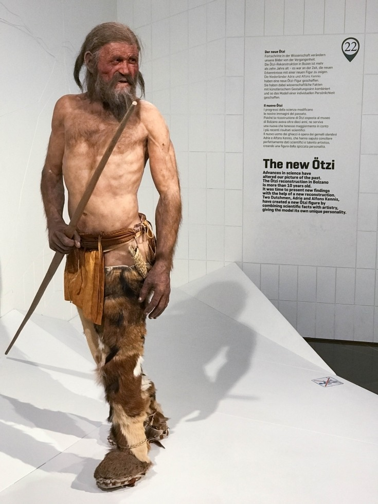 Meet Oetzi the iceman at the South Tyrol Museum of Archaeology, a Top Ten Bozen Attractions