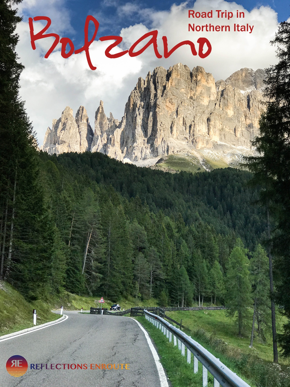 Beautiful mountain roads, Italian food and wine, and did I mention mountains? Bolzano, Italy is the destination for you!