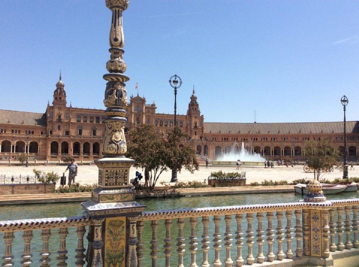 Seville port