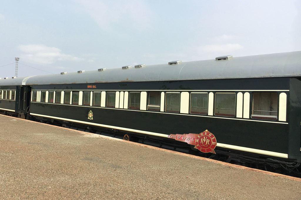 Rovos Rail pullman car