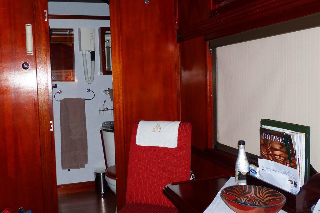 Interior of Pullman Car Rovos Rail