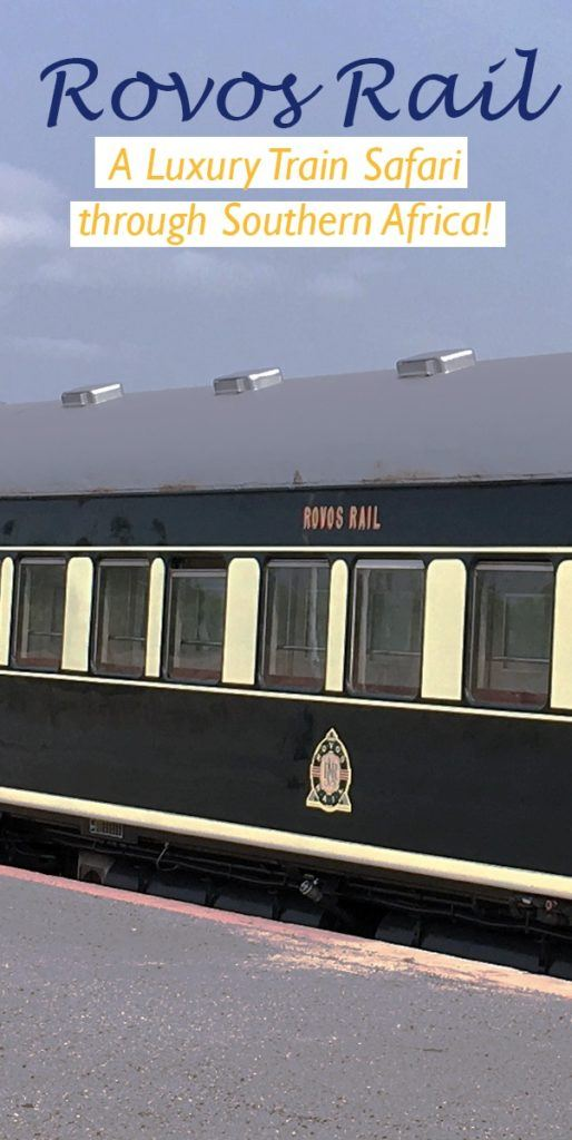 Wouldn't you just love to live in an old time movie and take a luxury train safari through Africa? Now you can with Rovos Rail!