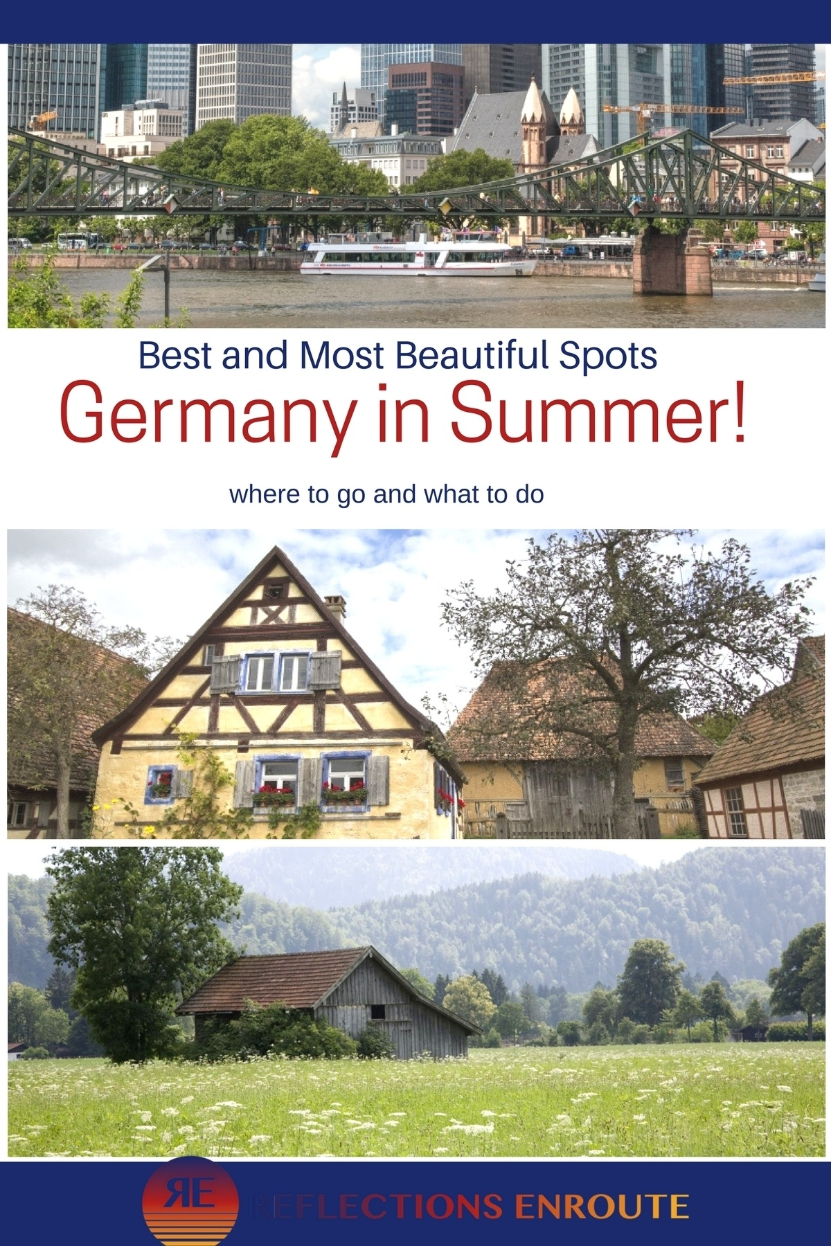 Summer in Germany! It's the best time to come, tour, hike, ride a bike, and finish it off with a great beer!