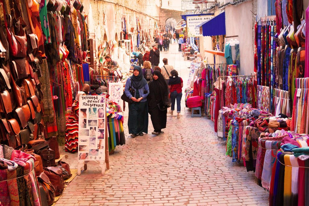 Wandering the Essaouira medina and souks is the thing to do.