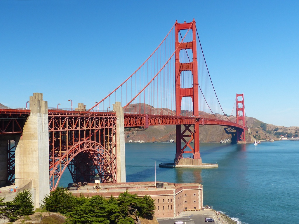 A Golden Gate bridge visit is one of the top things to do in San Francisco