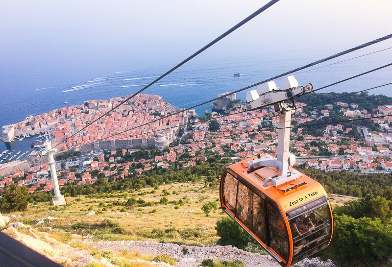 Cable Car, Dubrovnik