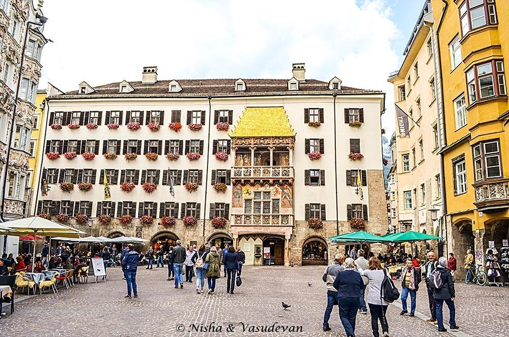 Downtown Innsbruck