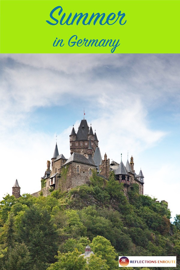 Summer in Germany! From the Black Forest to the North Sea, Germany is full of castles, mountains, and beautiful cities to explore during this season!
