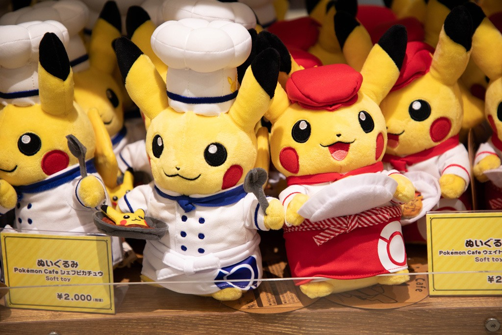 Pokemon Cafe plush toys for sale.