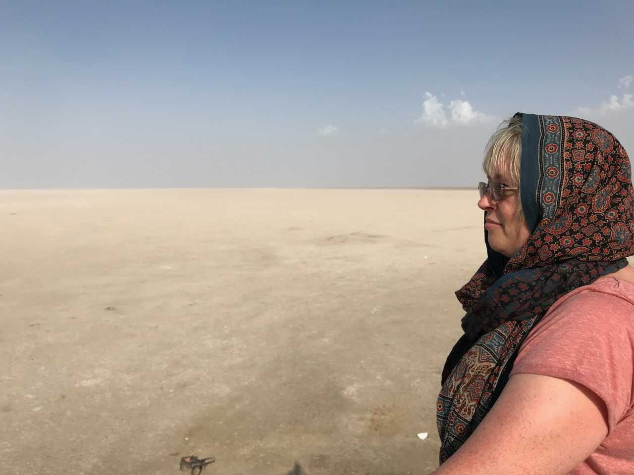 Jill in Kutch, India