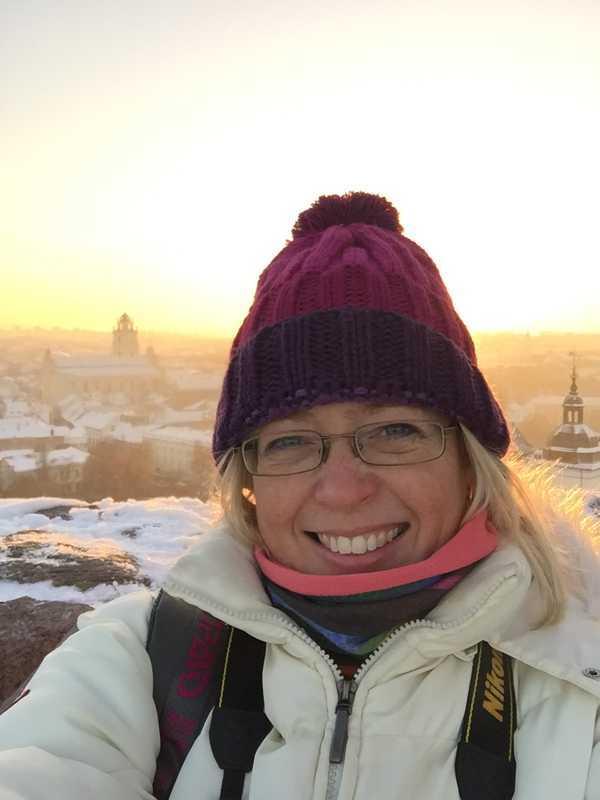 Jill in Vilnius, Lithuania