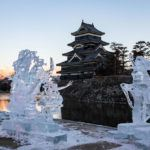 Winter in Matsumoto and The Ice Sculpture Festival