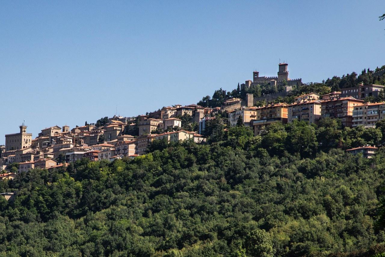 San Marino Sights - City Scape