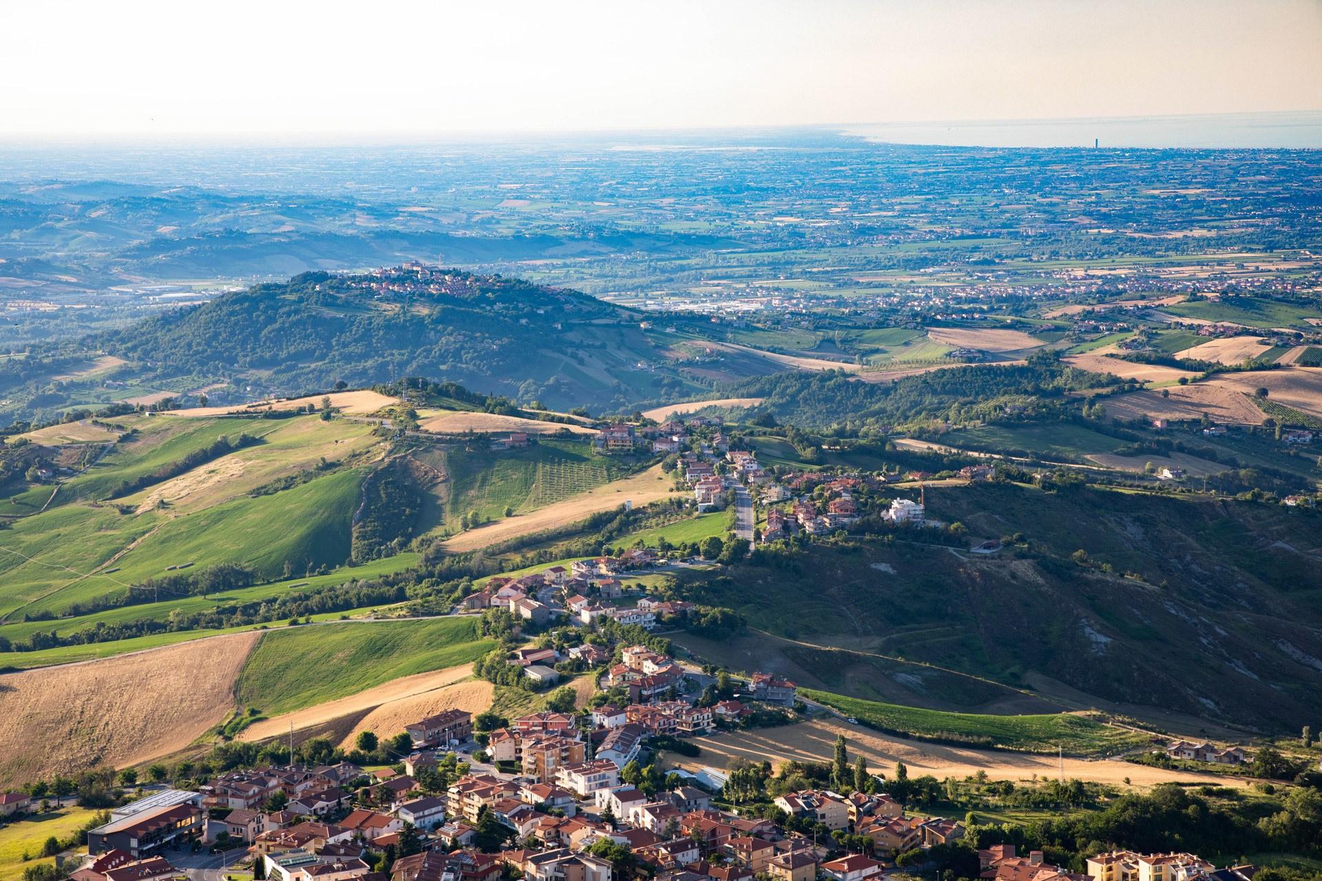 Visit San Marino for the views