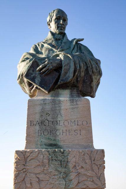 San Marino Sights - Borghesi statue