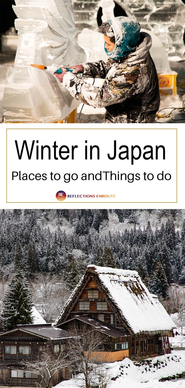 Winter in Japan is a magical season. So many things to do!