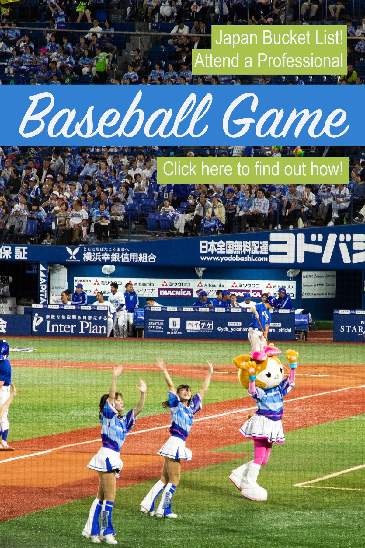 Looking for a great summer activity to do in Japan? Go to a Baseball game!