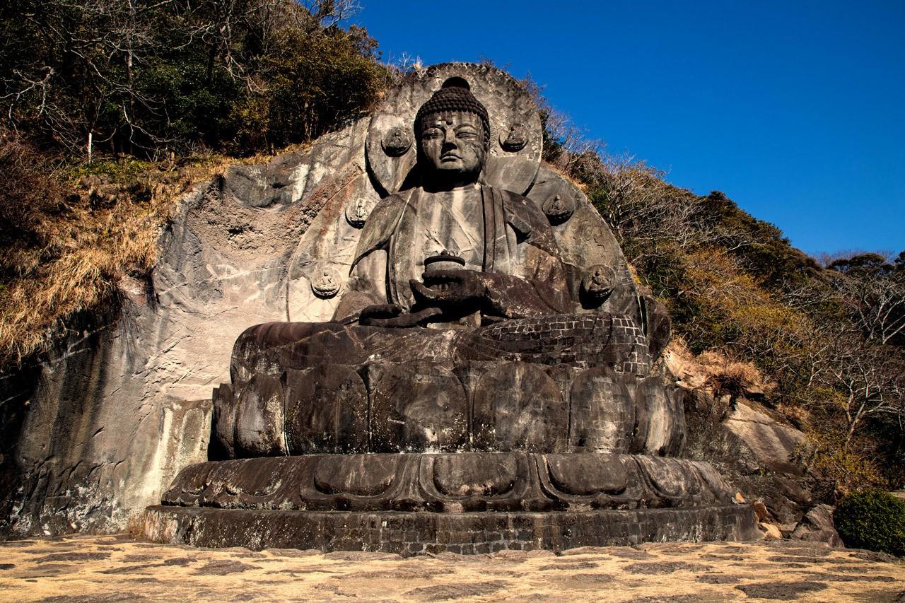 Big Stone Buddha at Nokogiriyama on the Boso Peninsula