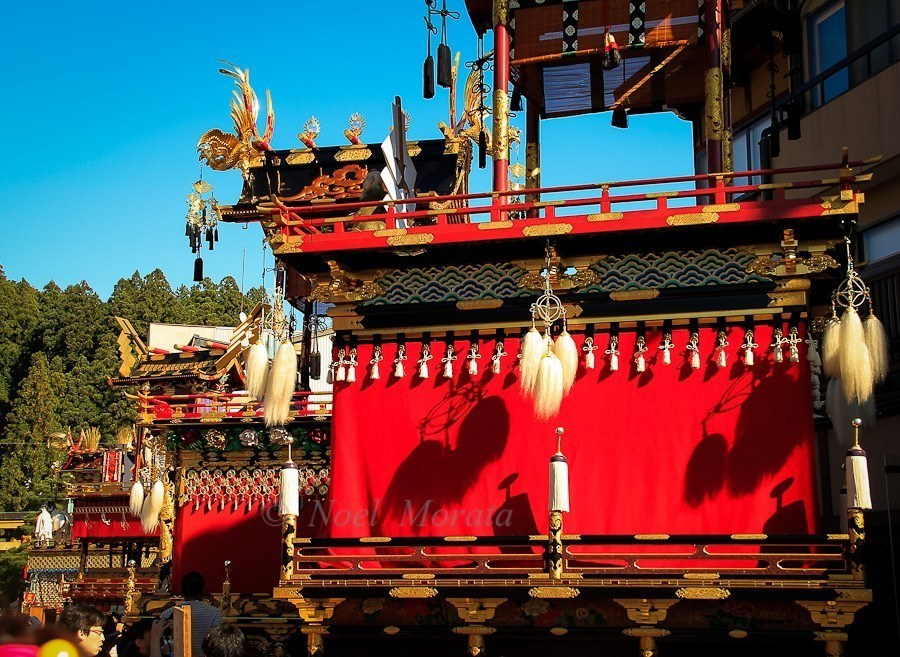 Japan autumn travel must include the Takayama Fall Festival.