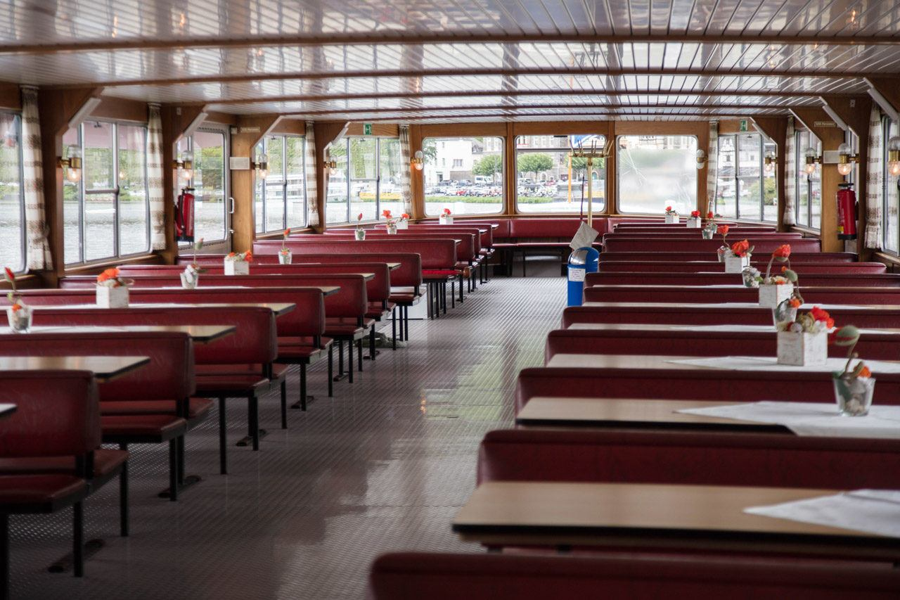 Mosel River Cruise Dining Room