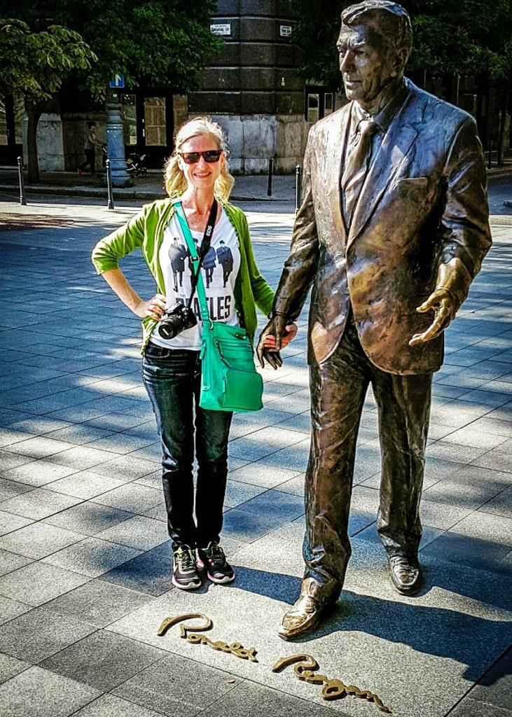 Sage and Ronald Reagan