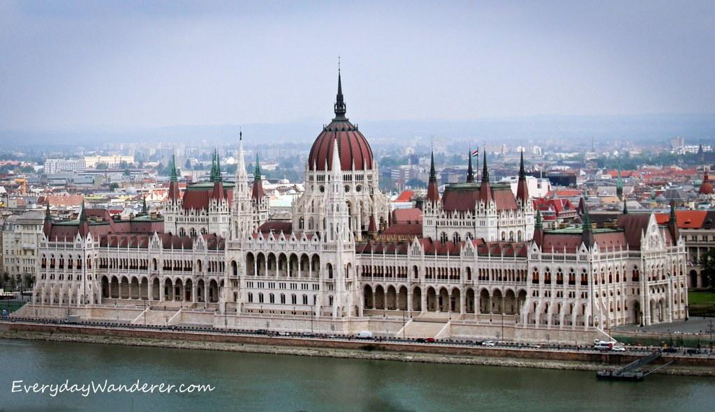 Budapest Parliament Bldg. by Everyday Wanderer