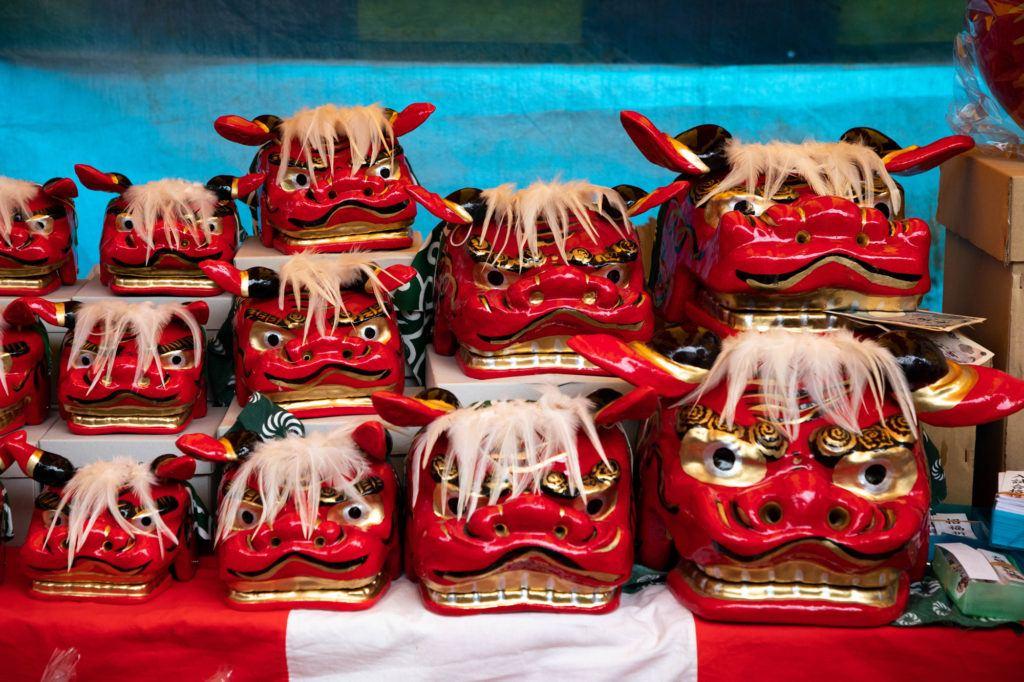 Ярмарка Дарума в храме Джиндайи Ярмарка Дарума в храме Джиндайи Daruma Fair Jindaiji Temple 1 7 1024x682