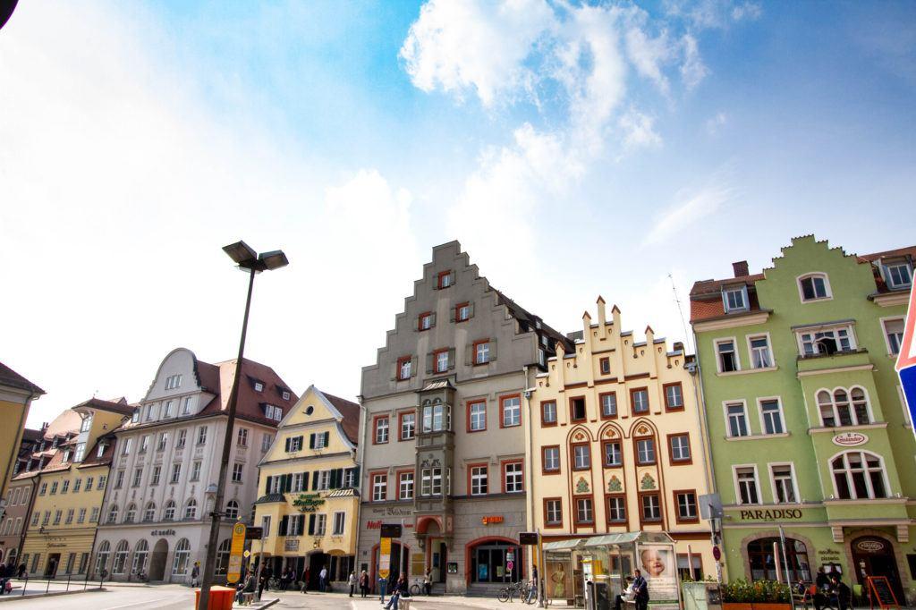 Регенсбург, Германия Downtown Regensburg 1 1024x682