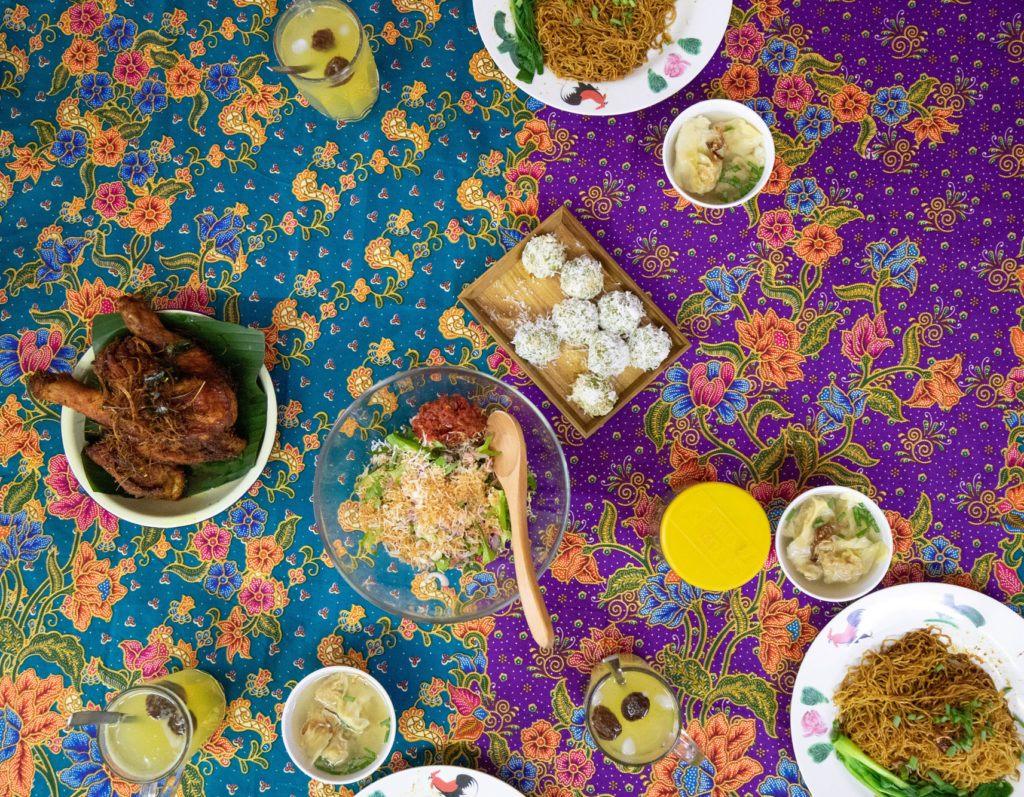 Разнообразие малазийских блюд.
