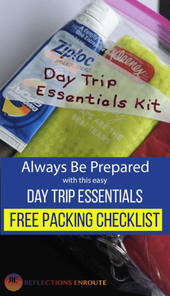 Don't you just love a day trip? Be prepared with our Day Trip Essentials Kit with free checklist download.